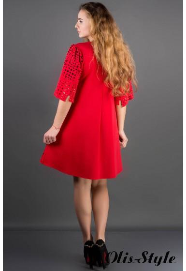 Платье Айви (красный) Оптовая Цена