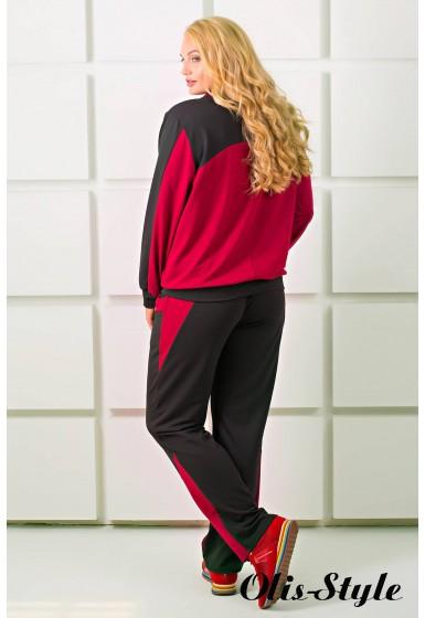 Спортивный костюм Бонита (бордовый)   оптовая цена