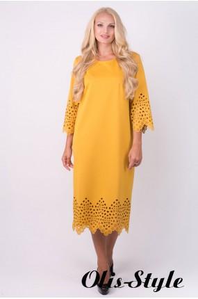 Платье Кайла (горчичный) Оптовая цена