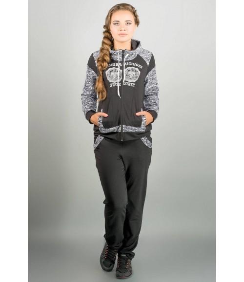 спортивный костюм Альда (черный )   Оптовая Цена