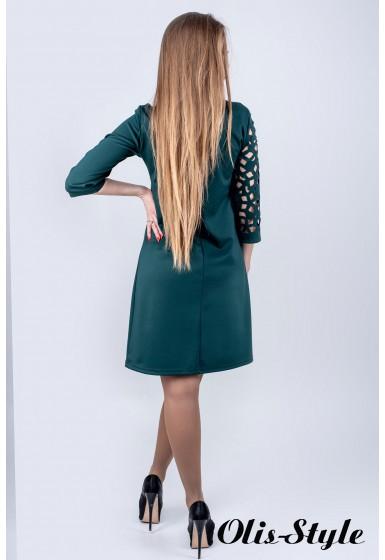 Платье Луиза (зеленый) Оптовая цена