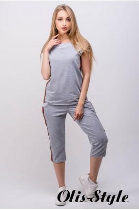 Спортивный костюм Лайза (серый) Оптовая цена