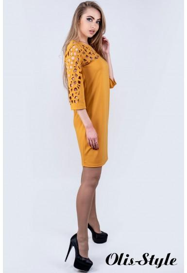 Платье Луиза (горчичный) Оптовая цена