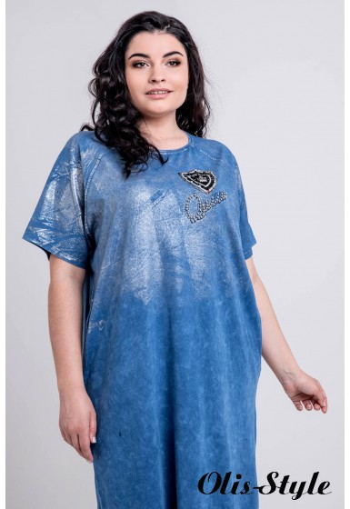 Платье Анет (бирюза)