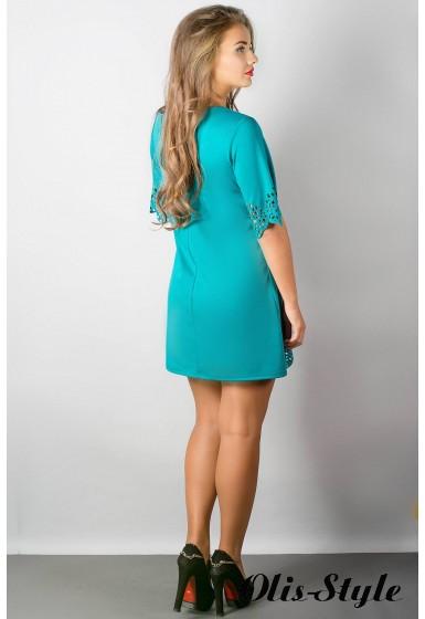 Платье Шедевр (бирюза) Оптовая цена