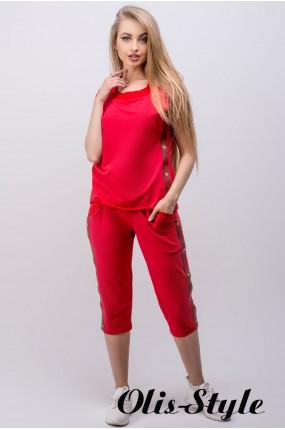 Спортивный костюм Лайза (красный) Оптовая цена