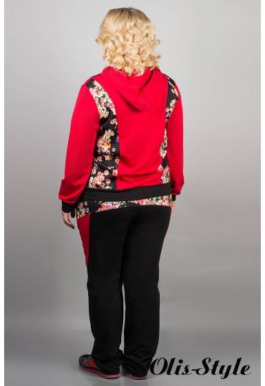 Спортивный костюм Глория (красный) оптовая цена