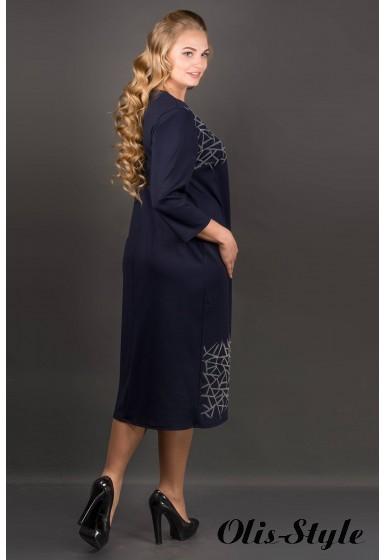 Платье Пиастра (синий) Оптовая цена