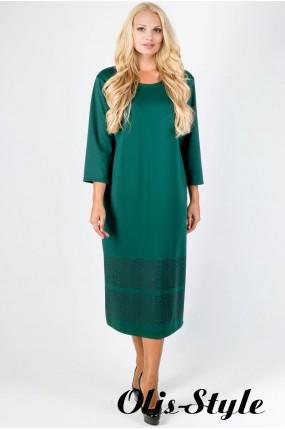 Платье Бейла (зеленый) Оптовая цена