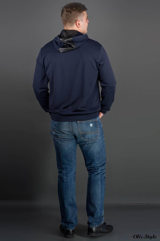 Мужская толстовка Ирланда (синий) оптовая цена