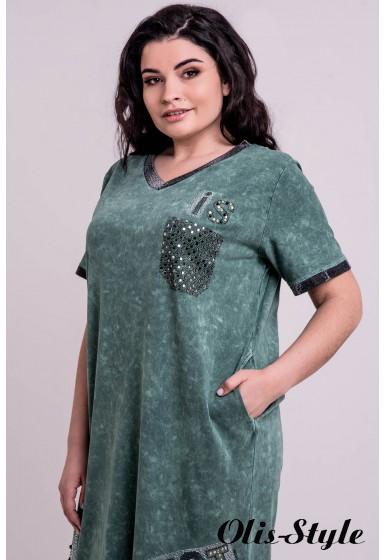 Платье Аделина (зеленый)