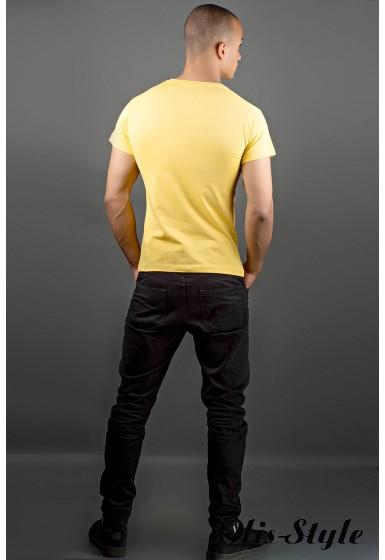 Мужская футболка Попей (желтый) оптовая цена