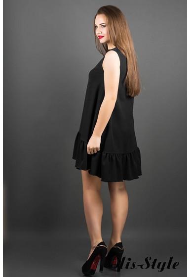 Платье Роми (черный) оптовая цена