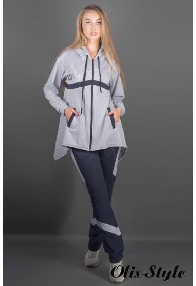 Спортивный костюм Армета (серый) Оптовая цена