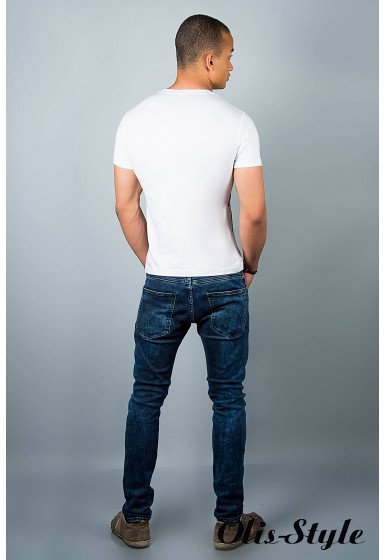 Мужская футболка (белая№34)   оптовая цена