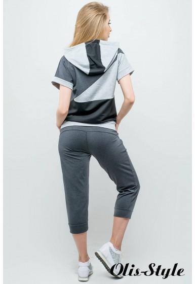 Спортивный костюм Илайя (серый) Оптовая цена