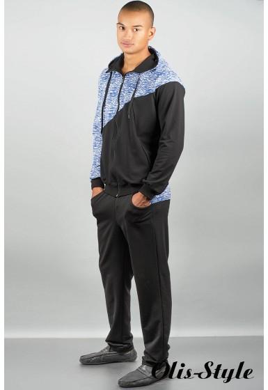 Мужской спортивный костюм Мон-пари ( электрик) Оптовая Цена