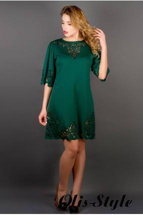 Платье Валенсия (зеленый) Оптовая Цена