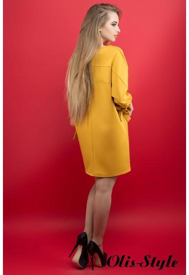 Платье Марис (горчичный) Оптовая цена