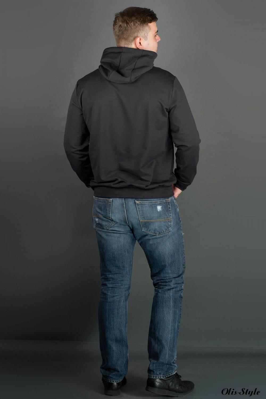 Мужская толстовка Рунэ (черный) оптовая цена