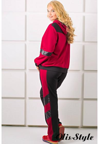 Спортивный костюм Лэсси (бордовый)   оптовая цена