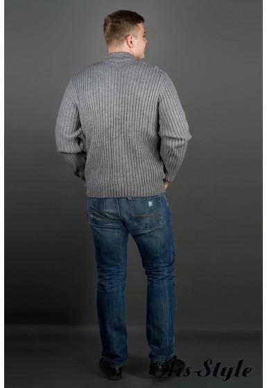Мужской свитер Равиль (темно-серый) оптовая цена