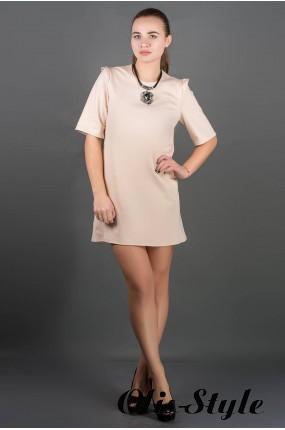 Платье Блуми (бежевый) Оптовая цена