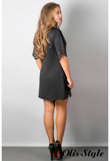 Платье Шедевр (черный) Оптовая цена