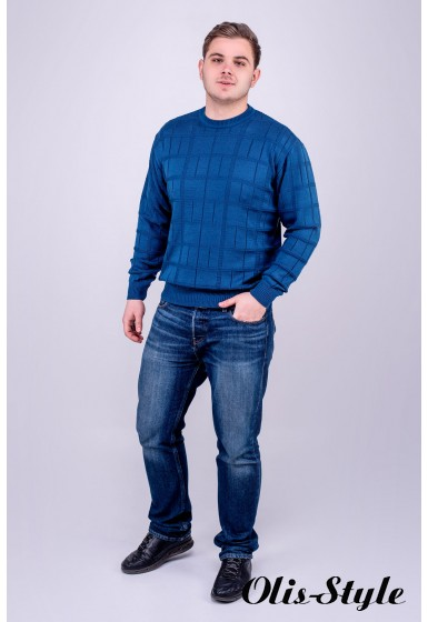 Мужской свитер Максим (бирюза) оптовая цена