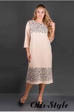 Платье Пиастра (бежевый) Оптовая цена