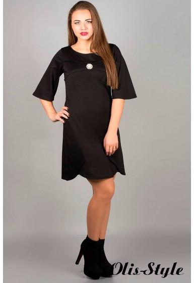 Платье Симона (черный) оптовая цена