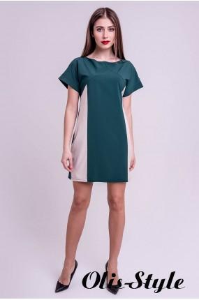 Платье Эвелина (зеленый) Оптовая цена
