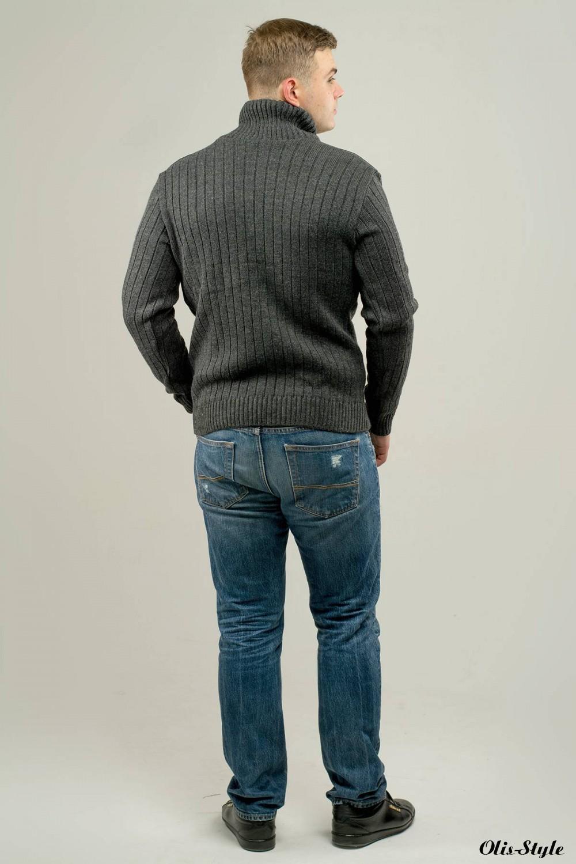 Мужской свитер Леонид (серый) оптовая цена