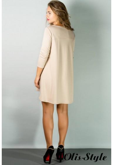 Платье Соланж (бежевый) Оптовая цена