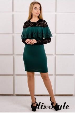 Платье Элис (зеленый) Оптовая цена