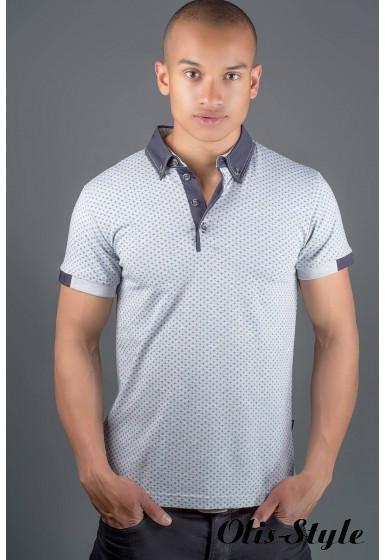 Мужская футболка Принт (серый) оптовая цена