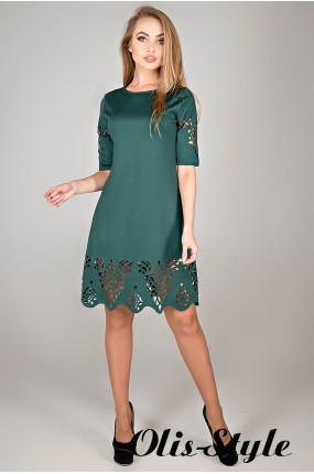 Платье Фисента (зеленый) Оптовая цена