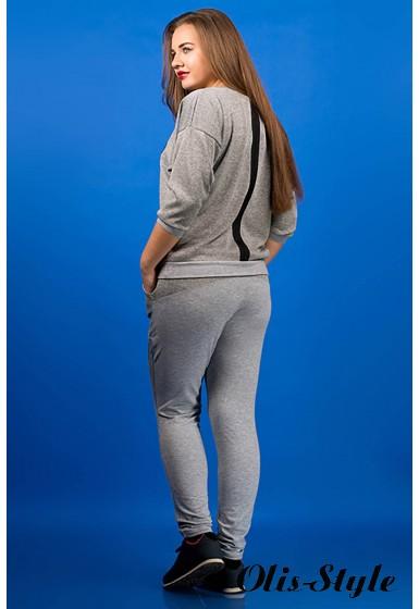 спортивный костюм Одри (серый)   Оптовая Цена