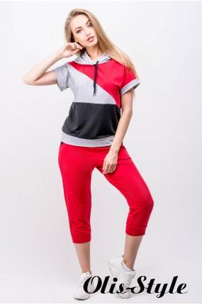 Спортивный костюм Илайя (красный) Оптовая цена