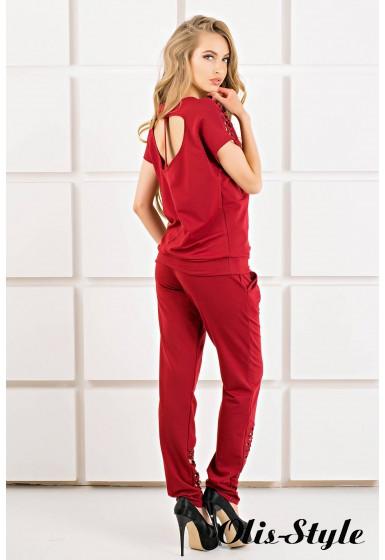 Спортивный костюм Канель (бордовый) Оптовая цена