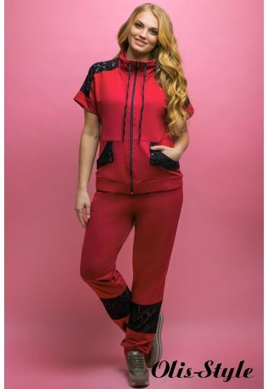 Спортивный костюм Калипса (бордовый)   оптовая цена