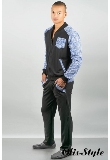 Мужской спортивный костюм Риччи ( электрик) Оптовая Цена