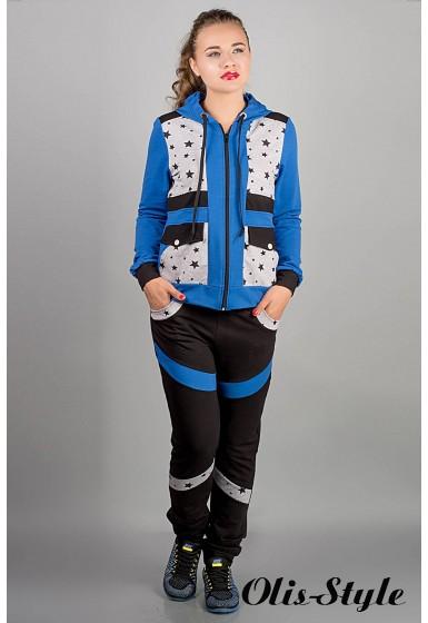 спортивный костюм Анжелика (электрик звезды) Оптовая Цена