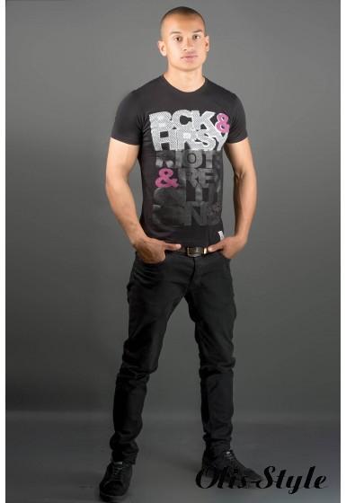 Мужская футболка Йонес (черный) оптовая цена