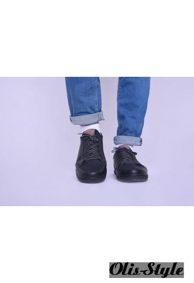 Мужские кроссовки 10471 (черный)