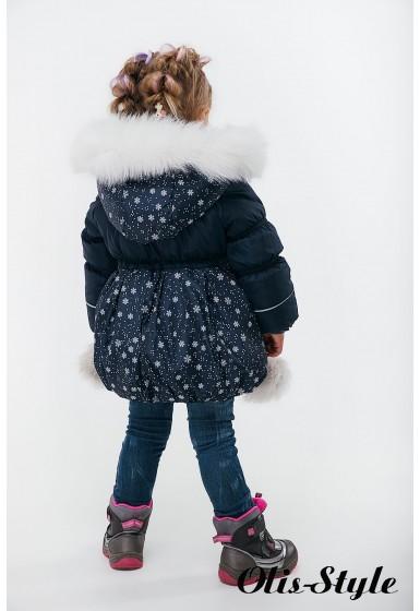 Зимняя детская куртка Бемби (синий) Оптовая цена