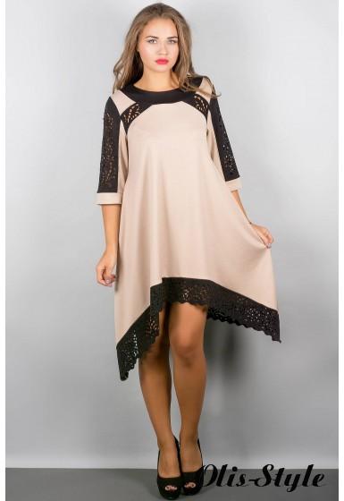 Платье Вайти (бежевый) Оптовая цена