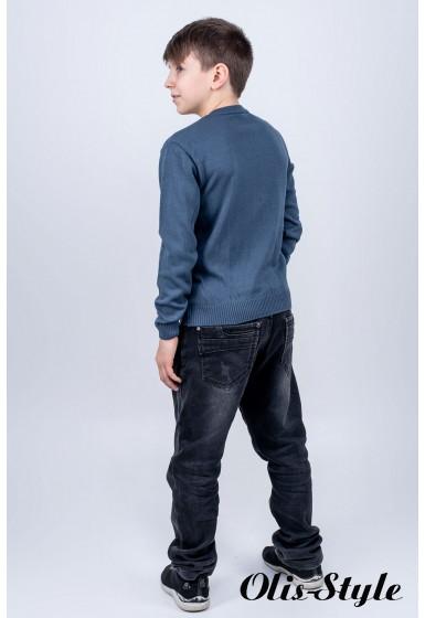Детский свитер Кирилл (серый)