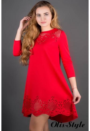 Платье Летисия (красный) Оптовая Цена