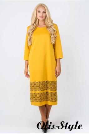 Платье Бейла (горчичный) Оптовая цена